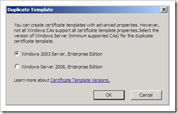 Windows 2008 pki certificate authority ad cs basics corelan team you can now change all of the templates parameters dont forget to set a unique template display name and template name in the template name yelopaper Gallery