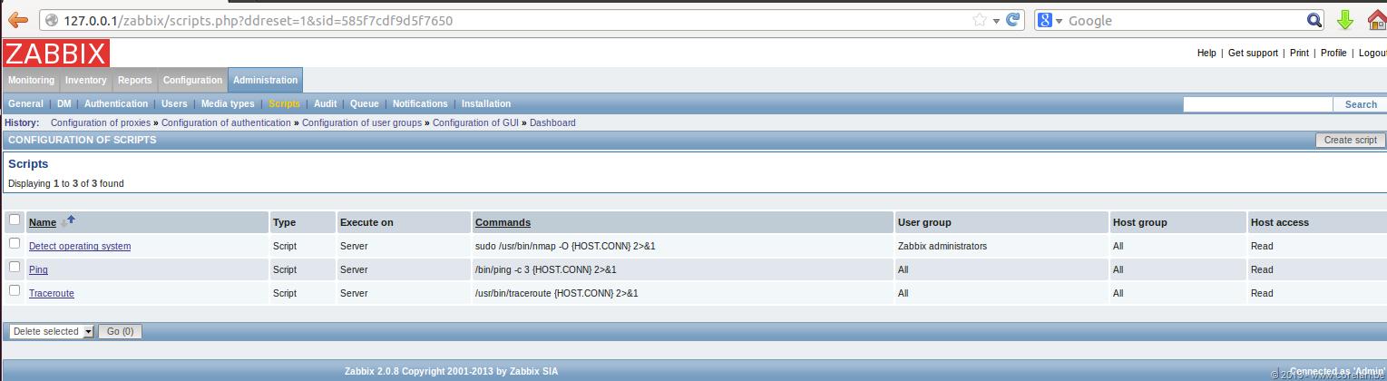 Zabbix SQL Injection/RCE – CVE-2013-5743 | Corelan Team